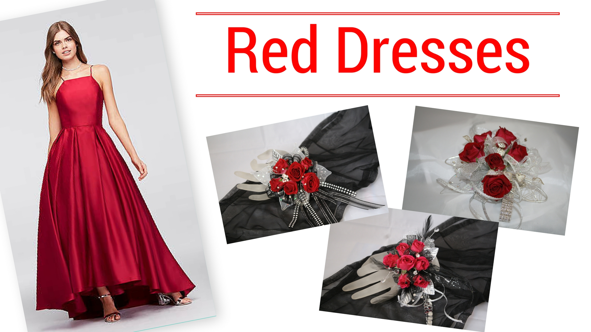 Prom 2018 Trends prom corsage near me flower shop in pasadena tx Red Dress