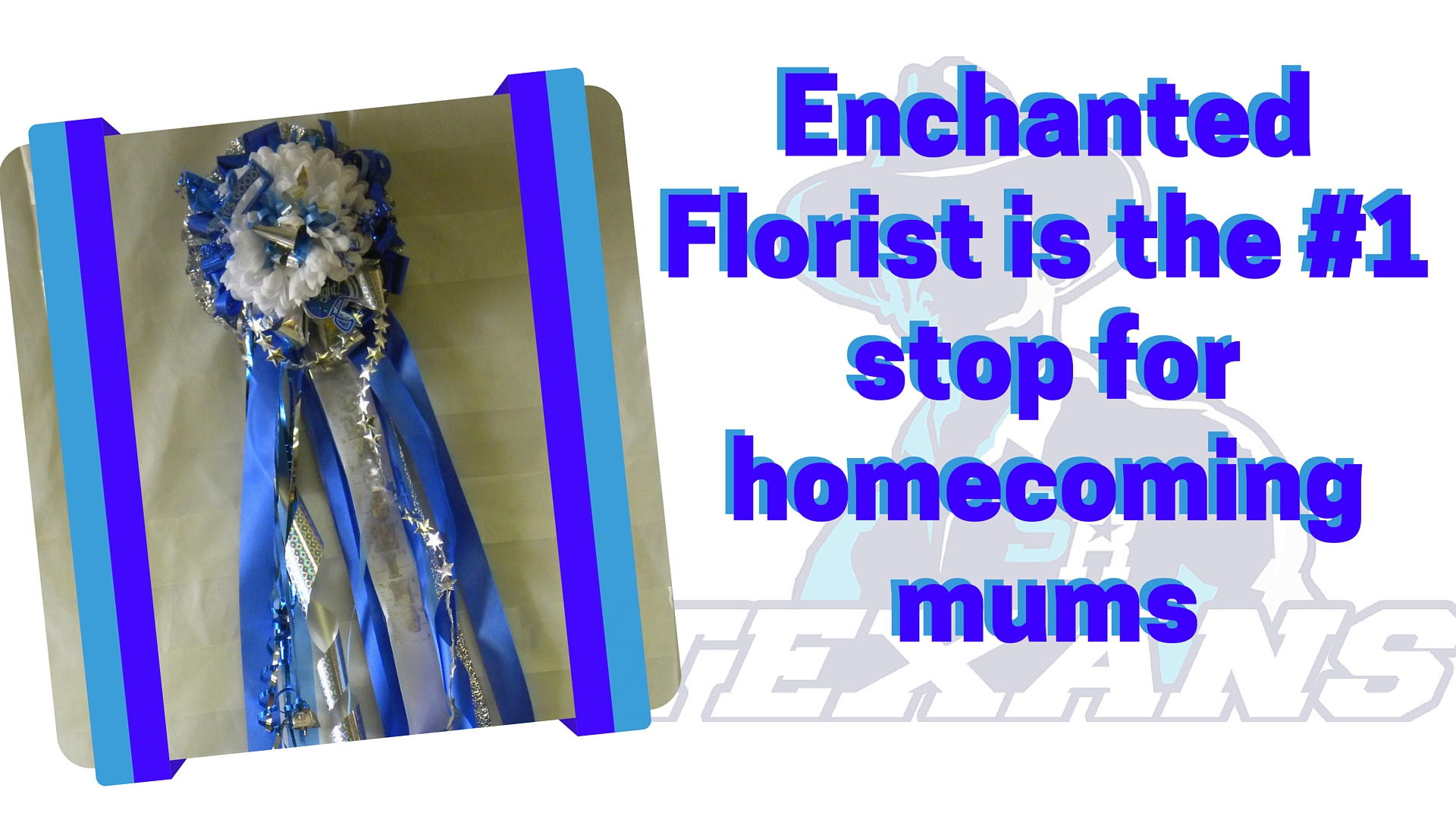 Sam Rayburn High School Homecoming Mums for sale in Pasadena Texas 3